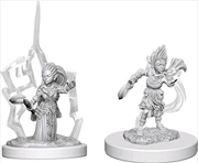 Pathfinder - Deep Cuts Unpainted Miniatures: Gnome Female Druid | Games