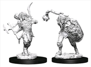 Pathfinder - Deep Cuts Unpainted Miniatures: Elf Male Fighter #2 | Games