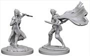 Pathfinder - Deep Cuts Unpainted Miniatures: Elf Female Rogue   Games