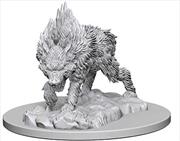 Pathfinder - Deep Cuts Unpainted Miniatures: Dire Wolf   Games