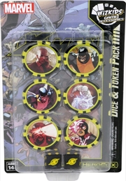 Heroclix - X-Men Xavier's School (Time Displaced) Dice & Token Pack