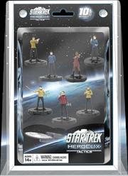 Heroclix - Star Trek Tactics Away Team 7-Pack | Merchandise