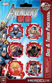 Heroclix - Marvel Avengers Assemble Captain America Dice Pack | Merchandise