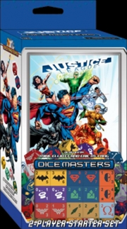 Dice Masters - DC Comics Justice League Starter | Merchandise