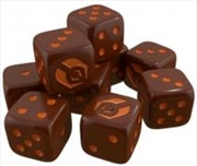 Star Trek - Ascendancy Ferengi Dice x 9 | Merchandise