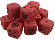 Star Trek - Ascendancy Klingon Dice x 10 | Merchandise