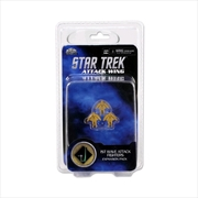 Star Trek - Attack Wing Wave 10 1st Wave Attack Fighters Expansion Pack | Merchandise