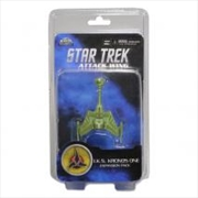 Star Trek - Attack Wing Wave 1 IKS Kronos One Expansion Pack | Merchandise