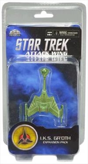 Star Trek - Attack Wing Wave 0 IKS Gr'oth Expansion Pack | Merchandise