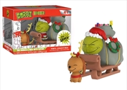 Dr Seuss - The Grinch & Max on Sled Dorbz Ridez