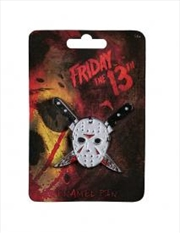 Friday the 13th - Jason Mask Enamel Pin