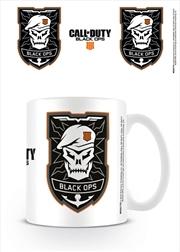 Cod Black Ops 4 Logo Mug