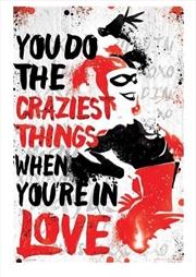 DC Comics - Harley Quinn Crazy