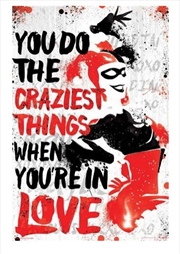 DC Comics - Harley Quinn Crazy | Merchandise