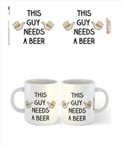emoji - This Guy Needs A Beer