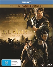 Mummy / The Mummy Returns / The Mummy - Tomb Of The Dragon Emperor | Blu-ray + Digital Copy, The