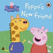 Peppa Pig: Peppa's New Friend | Hardback Book