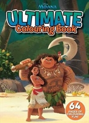 Disney: Moana Ultimate Colouring Book