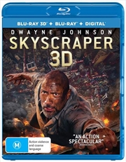 Skyscraper | 3D + 2D Blu-ray + Digital Copy
