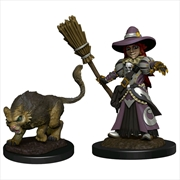 Wardlings - Girl Witch & Witch's Cat Pre-Painted Minis | Merchandise