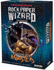 Dungeons & Dragons - Rock Paper Wizard Fistful of Monsters Expansion
