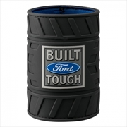 Ford Logo Black Rubber Tyre Can Cooler | Accessories