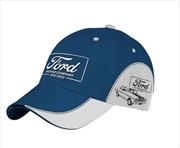 Classic Ford Blue Baseball Cap