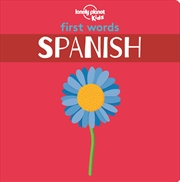 First Words - Spanish   Paperback Book
