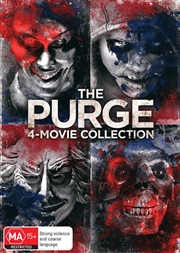 Purge / The Purge - Anarchy / The Purge - Election Year / The First Purge 4 Pack - Franchise Pack, | DVD