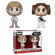 Star Wars - Luke Skywalker & Princess Leia Vynl.