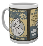 Fallout Vault Poster Mug | Merchandise