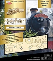 Harry Potter: Hogwarts Express Book and 3D Wood Model | Merchandise