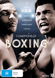 Champions Of Boxing - Collector's Edition