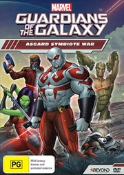 Guardians Of The Galaxy - Asgard Symbiote War | DVD