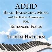ADHD Brain Balancing Music For Enhanced Focus | CD