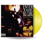 Enter The Wu-Tang Clan (36 Chambers) - Limited Edition Yellow Vinyl