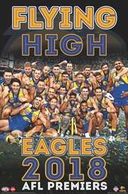 2018 AFL Premiers Poster - West Coast Eagles