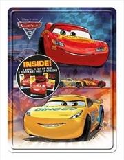 Disney Pixar Cars 3 Happy Tin   Paperback Book