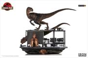 Jurassic Park - Velociraptors in the Kitchen 1:10 Scale Diorama