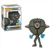 Fallout - Assaultron Invader Glow NYCC 2018 Exclusive Pop! Vinyl [RS] | Pop Vinyl