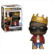 Notorious B.I.G. - Biggie with Crown & Glasses NYCC 2018 Exclusive Pop! Vinyl [RS]