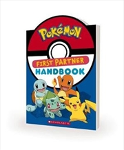 Pokemon: First Partner Handbook | Paperback Book