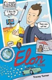 First Names: Elon Musk | Paperback Book