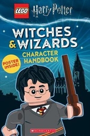 LEGO Harry Potter: Witches & Wizards Character Handbook | Paperback Book