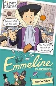 First Names: Emmeline Pankhurst | Paperback Book