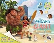 Disney Moana Giant Activity Pad