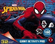 Marvel: Spider-Man Giant Activity Pad | Paperback Book