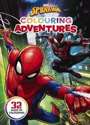 Marvel: Spider-Man Colouring Adventures | Paperback Book