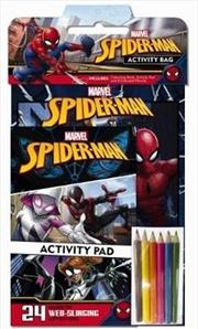Marvel Spider-Man Activity Bag | Paperback Book