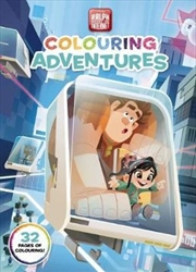 Disney: Ralph Breaks the Internet Colouring Adventures | Paperback Book